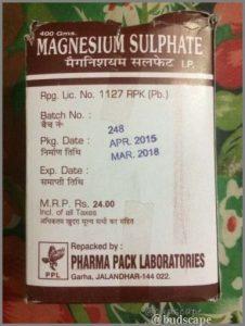 epsom salt chemist india