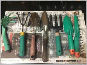 garden tools collection