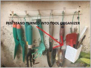 garden tools organize idea