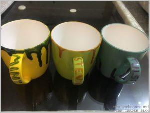 tea cups for growing herbs