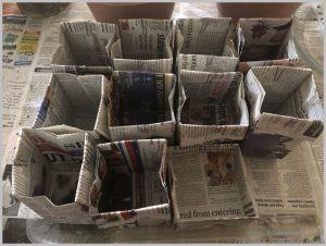 newspaper-pots-grow-plants